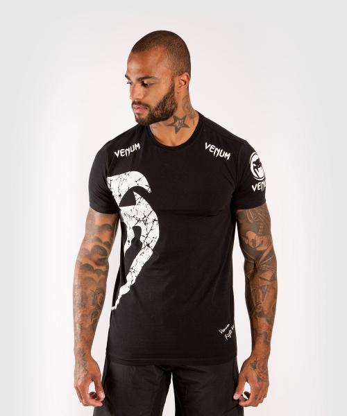 Venum Giant T-Shirt Schwarz/Weiß
