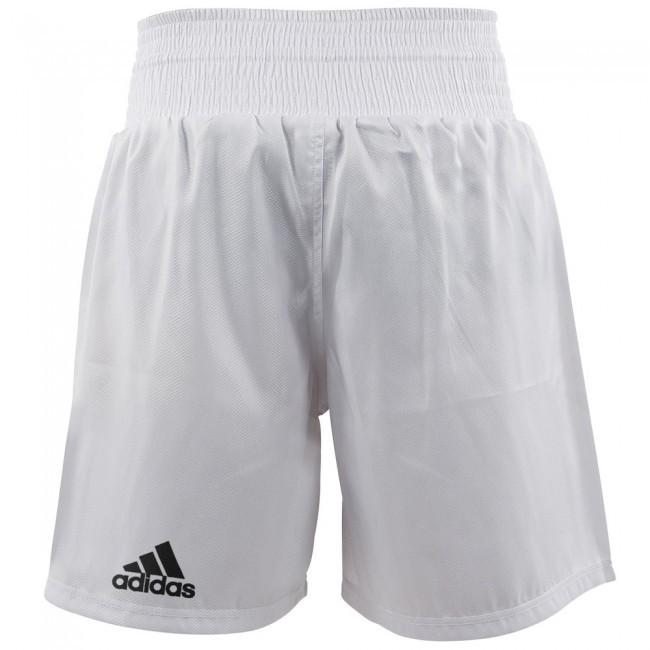 Adidas MULTIBOXING Short Weiß/Schwarz
