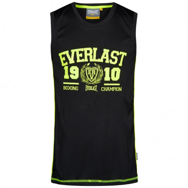Everlast Herren Muscle Shirt Fitness Tank Top Grau/Schwarz/Navy
