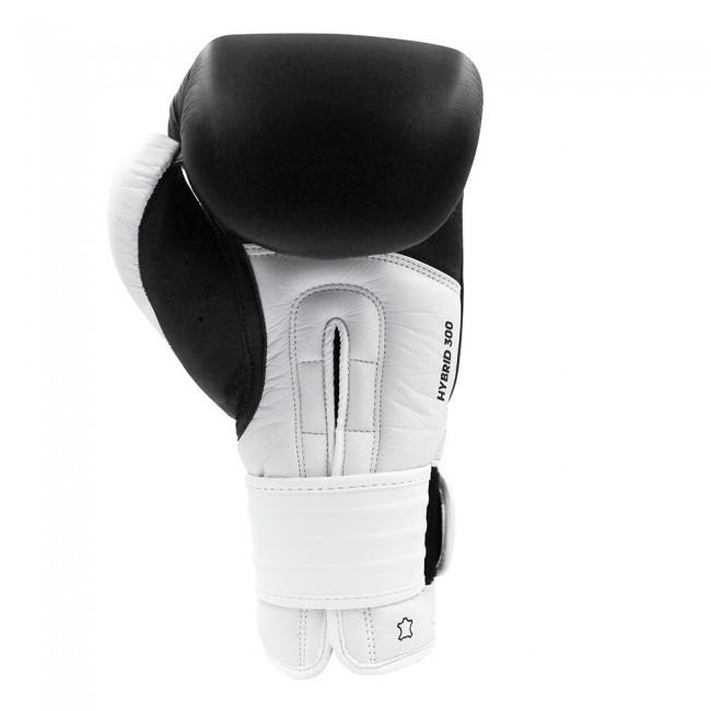 Adidas Boxhandschuhe Hybrid 300 Schwarz/Weiß