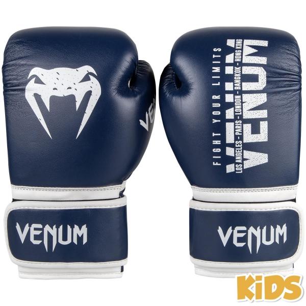 Venum Contender Kids Boxhandschuhe - Navy Blau