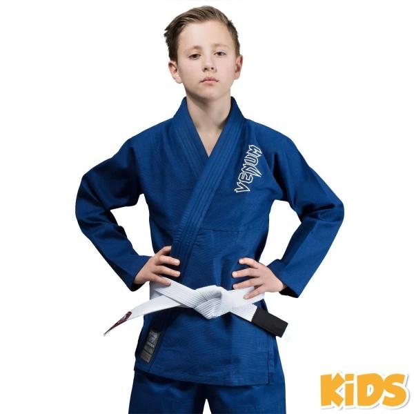 Venum Contender Kids BJJ Gi Blau