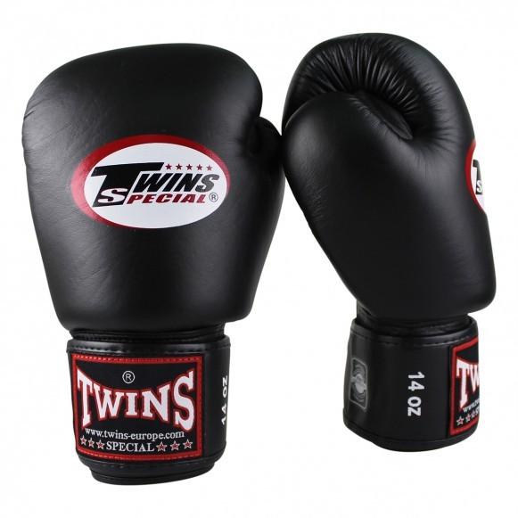 Twins Boxhandschuhe BGVL 3 Leder Schwarz