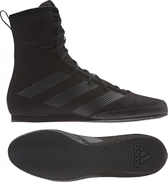 Adidas BOX HOG 3 Schwarz