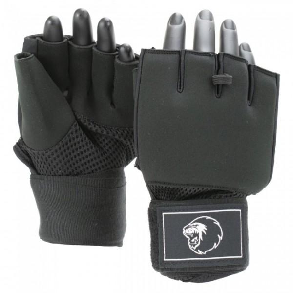 Super Pro Combat Gear Mexican Wrap Innenhandschuhe Schwarz/Weiß