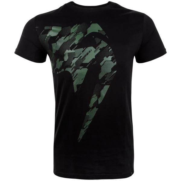 Venum Tecmo Giant T-Shirt Schwarz/Khaki