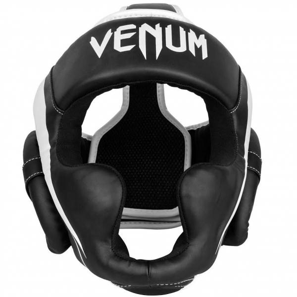 Venum Elite Kopfschutz - Schwarz / Weiß - Taille Unique