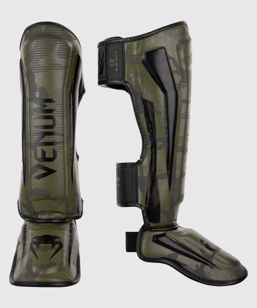 Venum Elite Schienbeinschutz - Khaki Camo