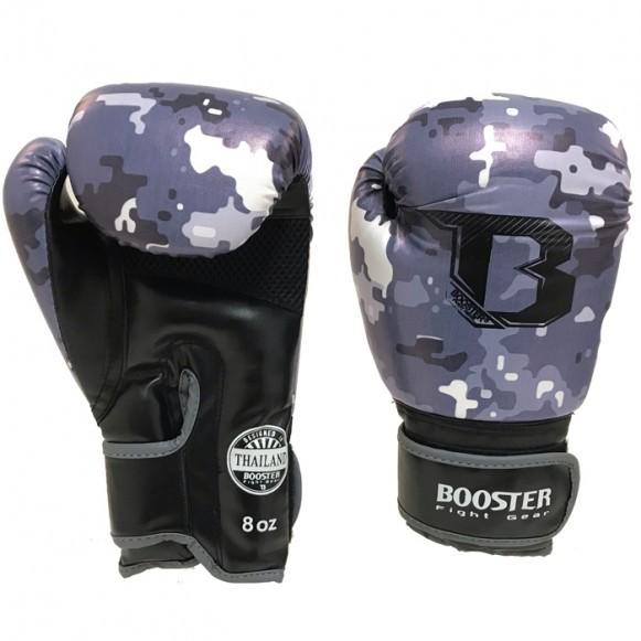 Booster Boxhandschuhe BG Jugendliche Camo Grau