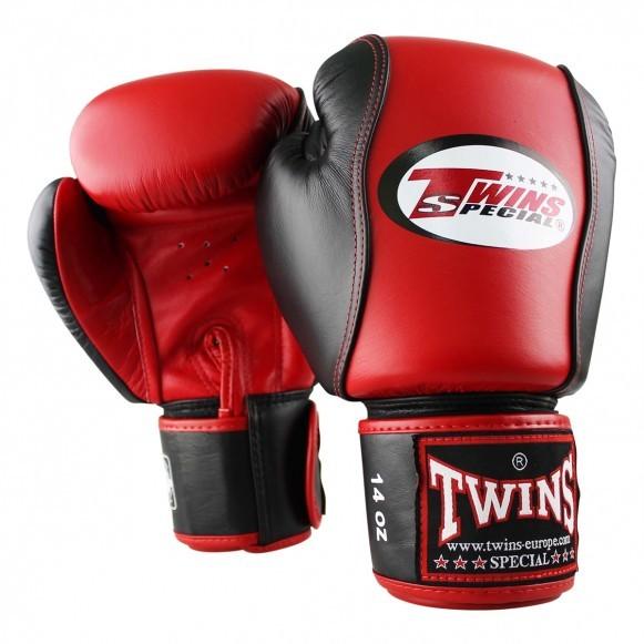 Twins BGVL 7 Boxhandschuhe Rot Schwarz