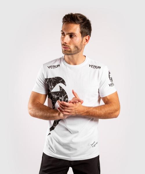 Venum Giant T-Shirt Weiß/Schwarz
