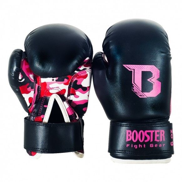 Booster Boxhandschuhe BT Kinder Duo Camo Pink