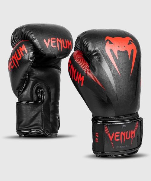 Venum Impact Boxhandschuhe - Schwarz/Rot