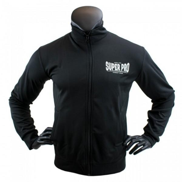 Super Pro Trainingsjacke Schwarz/Weiß