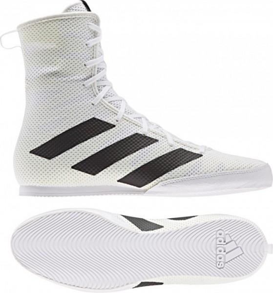 Adidas BOX HOG 3 Weiß/Schwarz