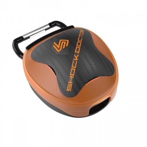 Shock Doctor Mundschutz Aufbewahrungsbox Orange Universal