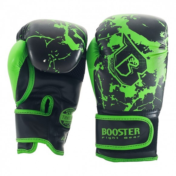 Booster Boxhandschuhe BG Jugendliche Marmorgrün