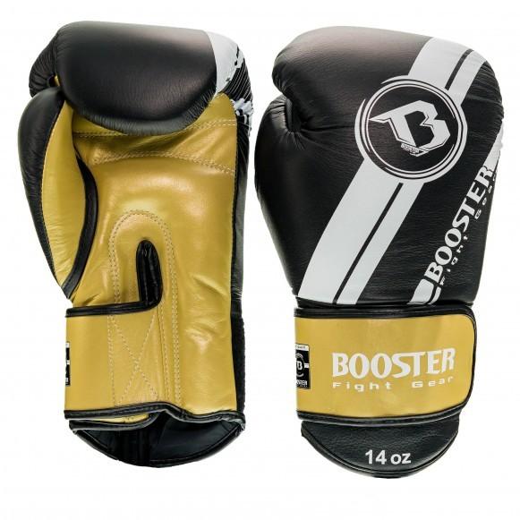 Booster Boxhandschuhe BGL V3 Neu Schwarz Gold