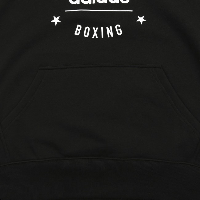 "Adidas Community Sleeveless Hoodie ""BOXING"" Schwarz/Weiß"
