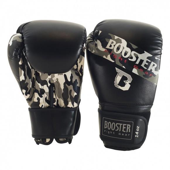 Booster Boxhandschuhe BT Sparring Camo Grau