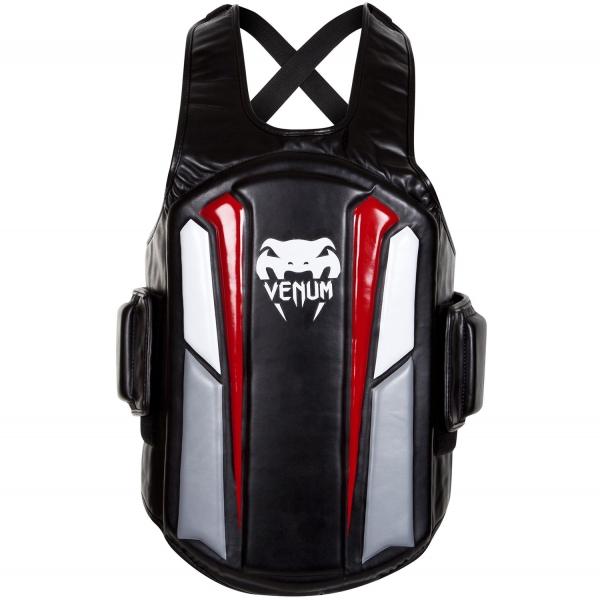 Venum Elite Körperschutz - Schwarz/Ice/Rot