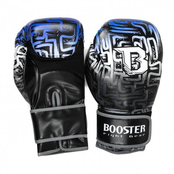 Booster Boxhandschuhe BT Labyrinth Blau