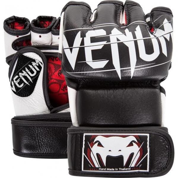 Venum Undisputed 2.0 MMA Handschuhe - Nappaleder Schwarz