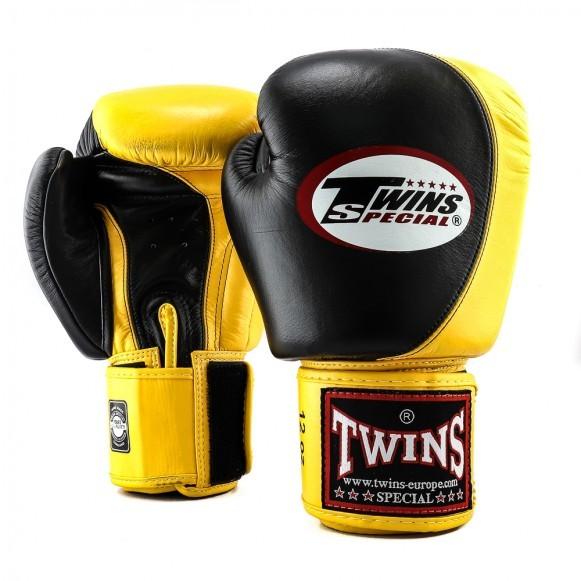 Twins Boxhandschuhe BGVL 9 Schwarz Gelb
