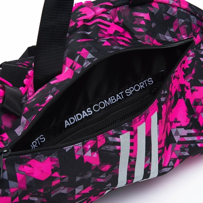 Adidas 2in1 Sporttasche Combat Sports Pink Camo/Silver M