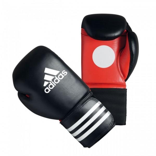 Adidas SPARING COACH GLOVES Schwarz/Rot 14 oz