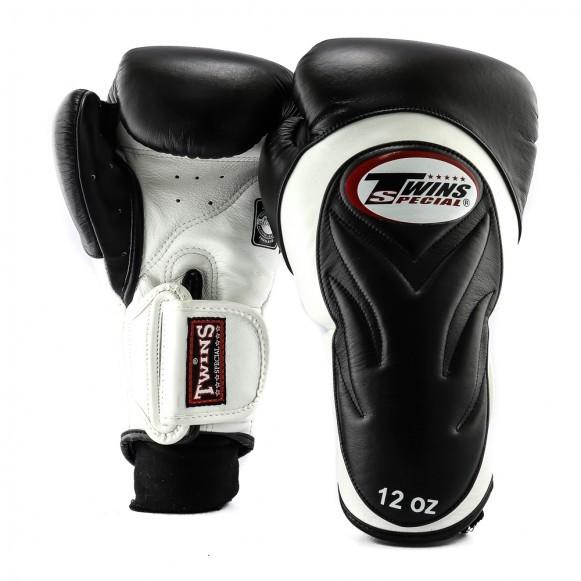 Twins BGVL 6 Boxhandschuhe Premium Schwarz Weiß