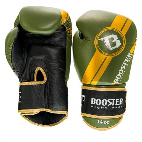 Booster Boxhandschuhe BGL V3 Neu Schwarz Grün
