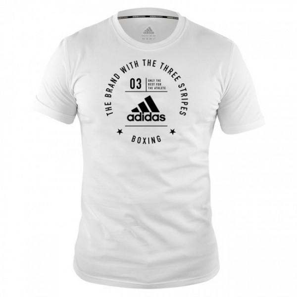 Adidas Community T-Shirt Boxing Weiß/Schwarz