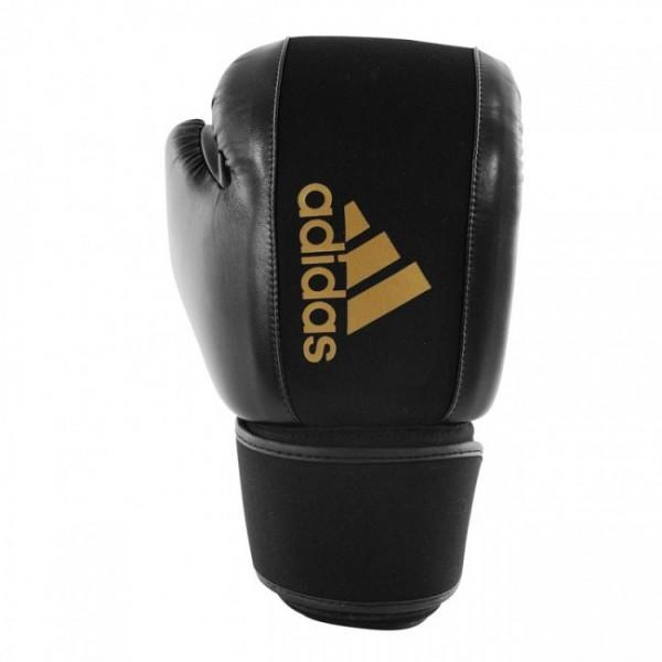 Adidas Boxhandschuhe Boxing Gloves Washable Schwarz/Gold