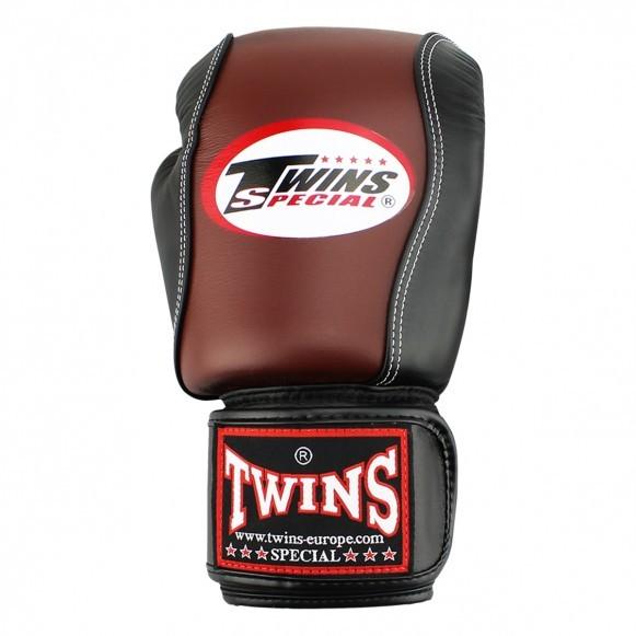 Twins BGVL 7 Boxhandschuhe Retro Schwarz
