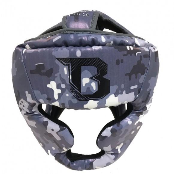 Booster Kopfschutz HDL B 2 Camo Grau Jugendliche