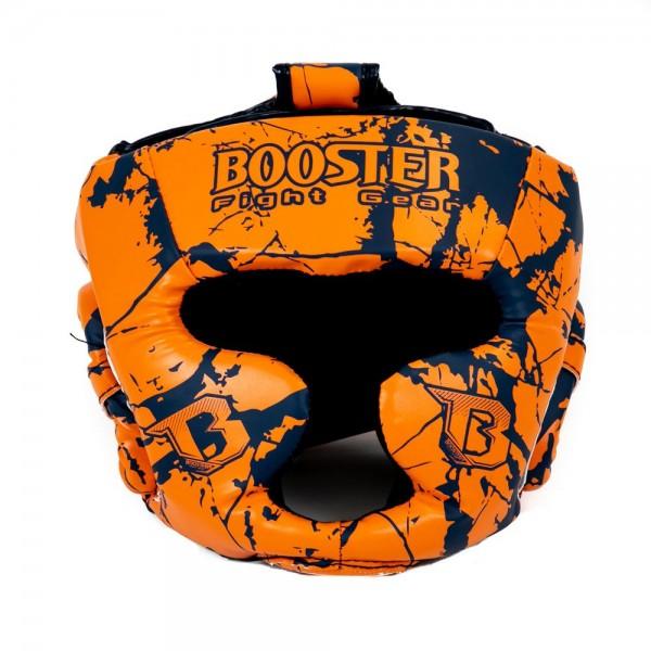 Booster Kopfschutz HGL B 2 Marmor/Orange Jugendliche