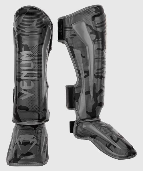 Venum Elite Schienbeinschutz - Schwarz/Camo dunkel
