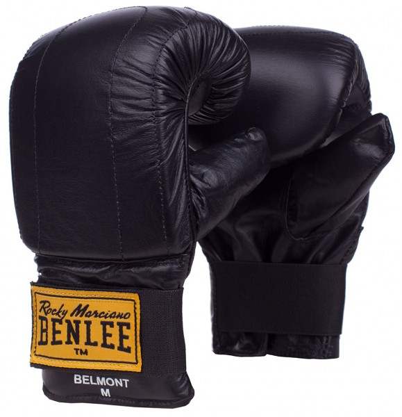 Benlee Belmont Sandsackhandschuhe aus Leder Schwarz
