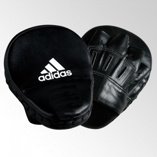 Adidas Focus Mitt 10 'Leather' Slim & Curved