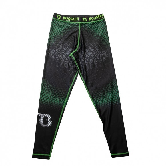 Booster MMA-Spats Spats Green Snake