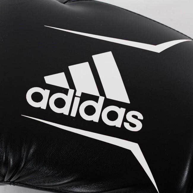 Adidas Boxhandschuhe Speed 50 Schwarz/Weiß