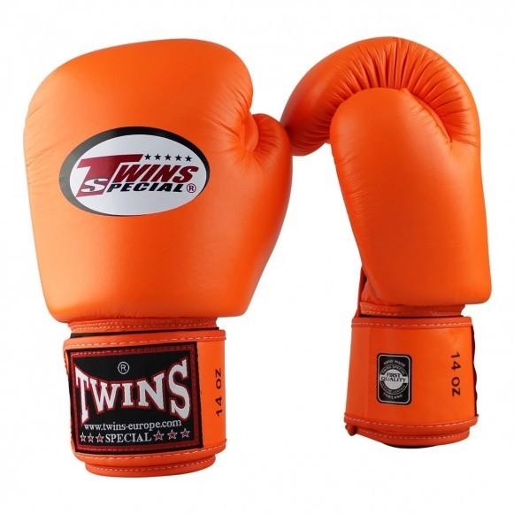Twins Boxhandschuhe BGVL 3 Leder Orange