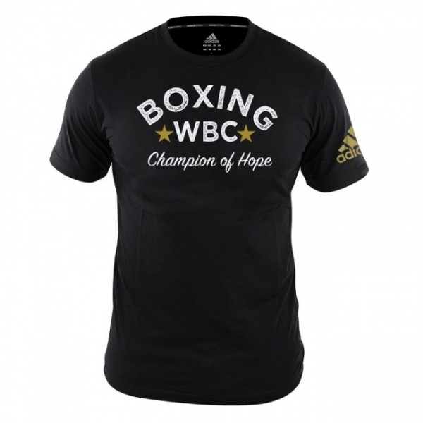 Adidas WBC T-Shirt Boxing-Schwarz