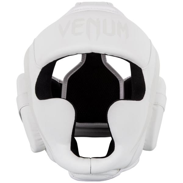 Venum Elite Kopfschutz - Weiß - Taille Unique