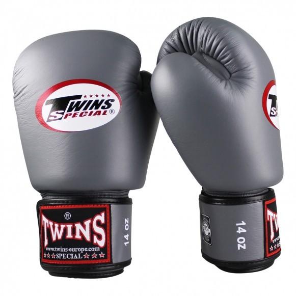 Twins Boxhandschuhe BGVL 3 Leder Grau